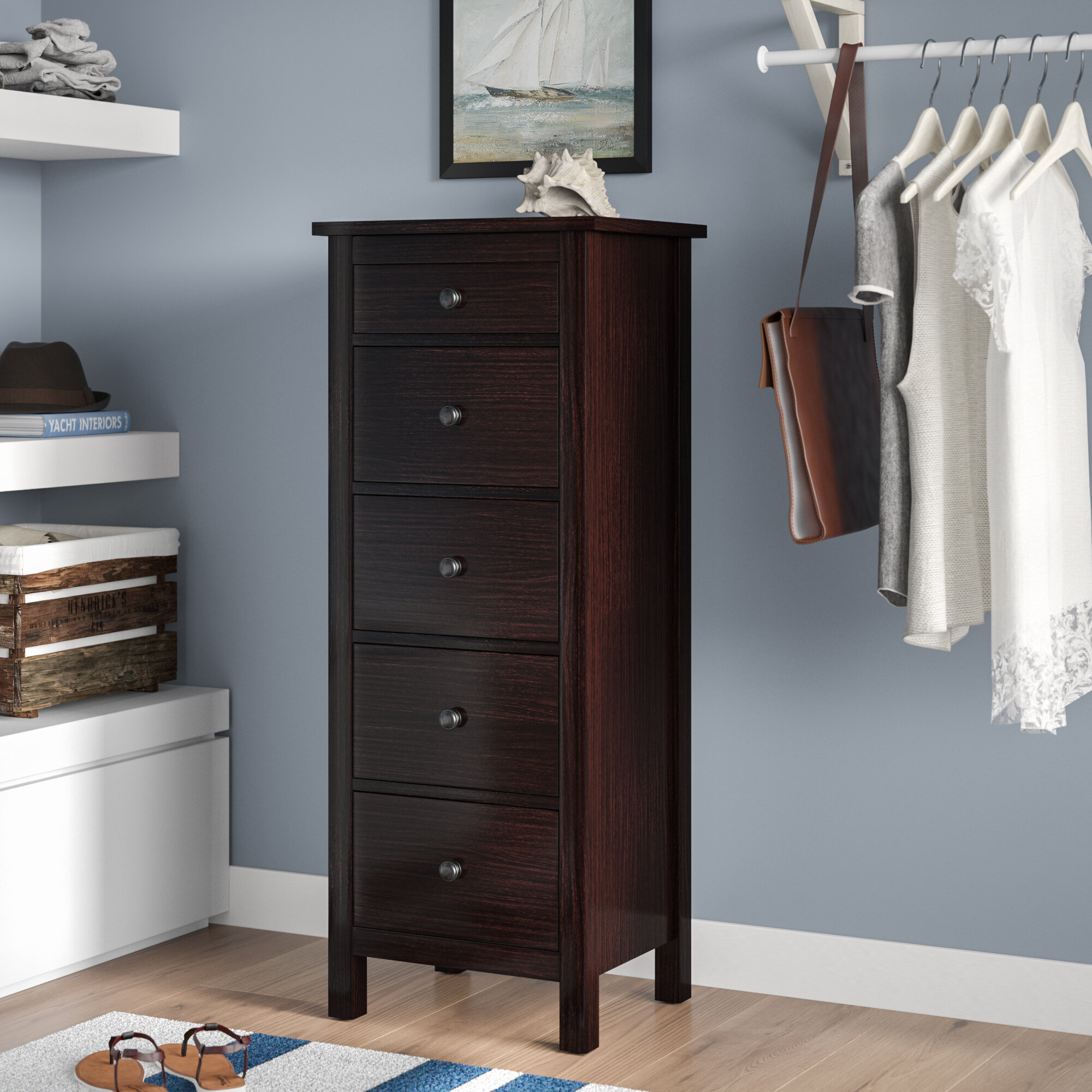 Bryant 5 Drawer Chest