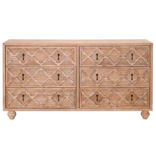Sue 6 Drawer Double Dresser