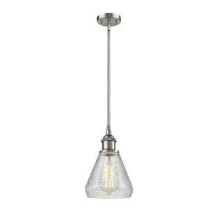 Wrought Studio Flesher 1-Light Bell Pendant