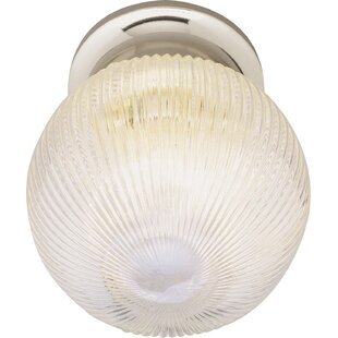 Online Reviews Builder Flush Mount By TransGlobe Lighting