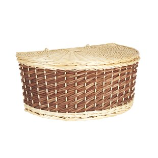 Comparison Halfmoon Basket By Household Essentials