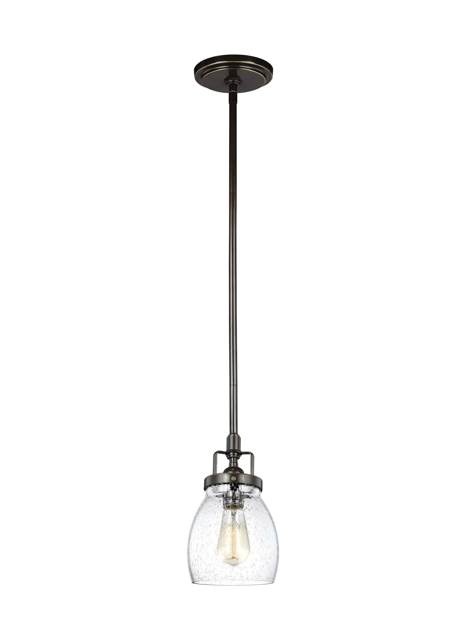 Trent Austin Design Houon 1 Light Single Bell Pendant Reviews Wayfair