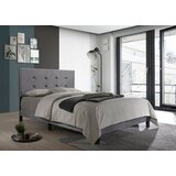 Axbridge Tufted Upholstered Platform Bed by Wrought Studio™