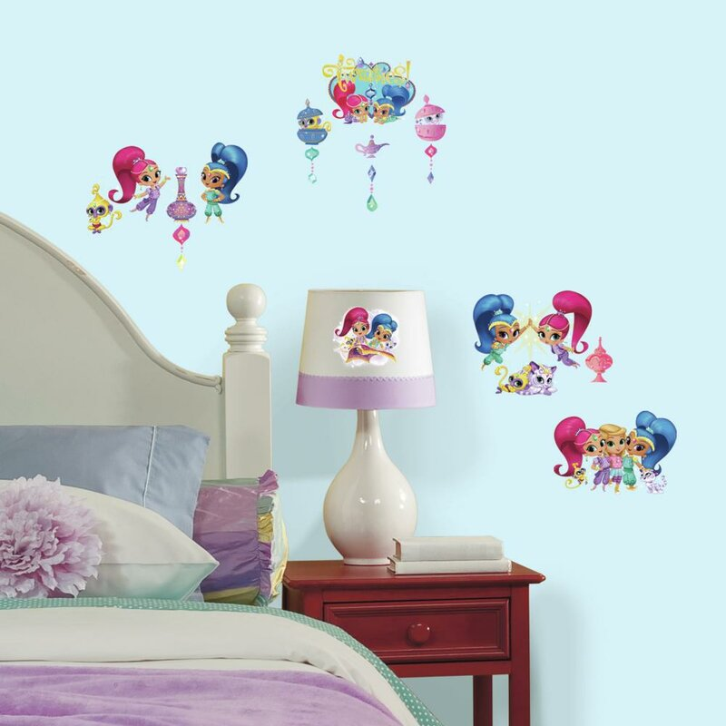 Shimmer And Shine Peel And Stick Wall Decal