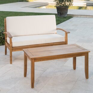 Dawlish 2 Piece Conversation Set With Cushions by Three Posts