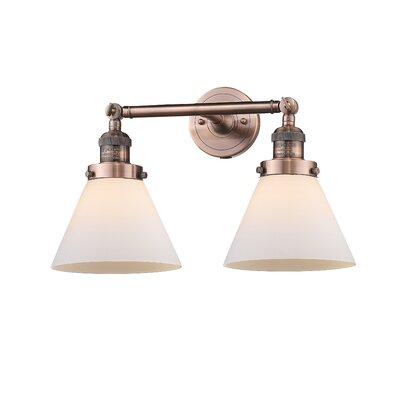 Gl Cone Wall Sconce Beachcrest Home