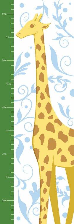 Gorgeous Giraffe Growth Chart