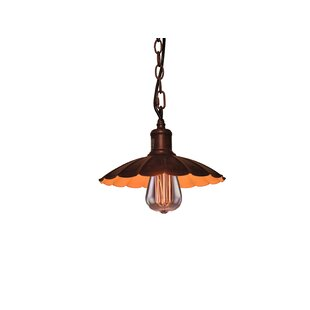Williston Forge Izzie 1-Light Cone Pendant