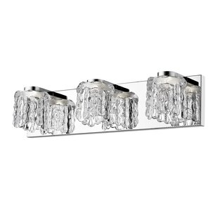 Orren Ellis Justin 3-Light LED Vanity Light