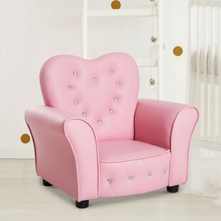 Colletti Princess Kids Chair by Zoomie Kids