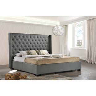 Cédric Upholstered Panel Bed ..