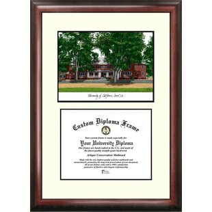 NCAA UC Davis Aggies Scholar Lithograph Diploma Frame By Campus Images