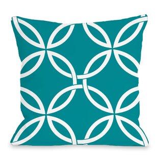 Melfa Interwoven Outdoor Throw Pillow
