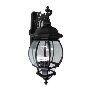 Reviews Glyndon 4-Light Outdoor Wall Lantern By Astoria Grand