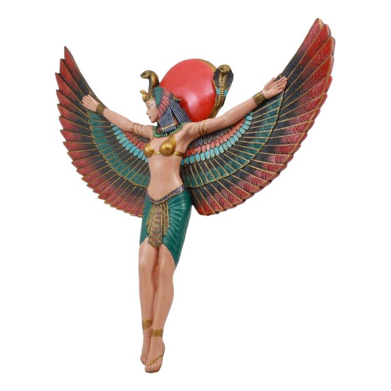 Ancient Egyptian Protector of Egypt Goddess wall Sculptural Decor