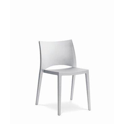 Bontempi Casa Aqua Stacking Patio Dining Chair Finish: White