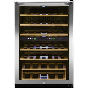 38 Bottle Dual Zone Freestanding Wine Cooler