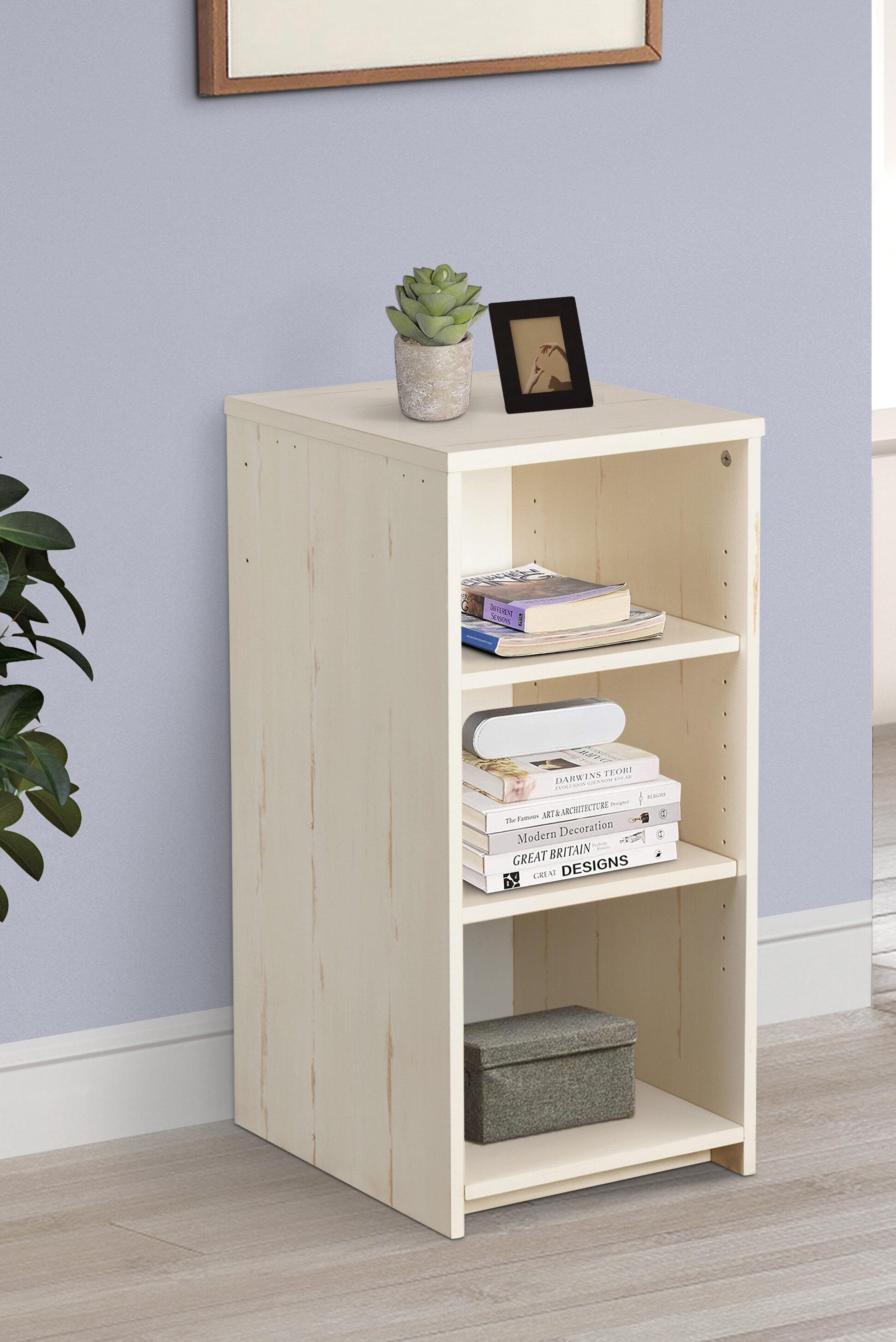 Gracie Oaks Newdale 29 5 H X 13 8 W Standard Bookcase Wayfair
