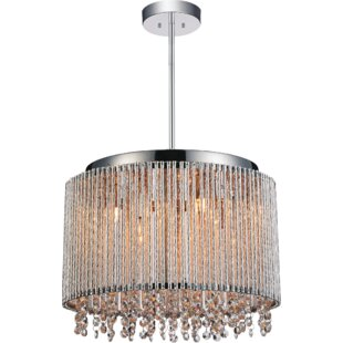 CWI Lighting Claire 6-Light Drum Chandelier