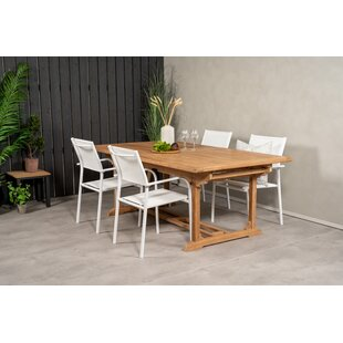 Baek 4 Seater Dining Set By Sol 72 Outdoor