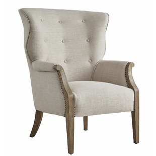 Amare Jenny Leigh Wingback Chair By Charlton Home