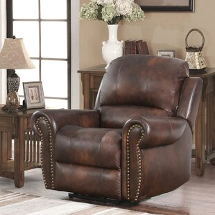 Price comparison Scottie Leather Power Recliner by Canora Grey Reviews (2019) & Buyer's Guide