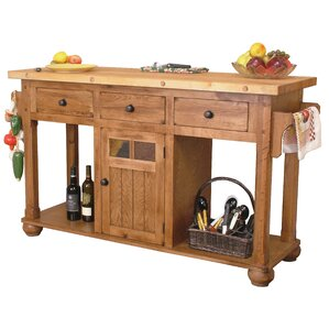 Kitchen Island 60 X 40 rustic kitchen islands & carts - kitchen & dining furniture | wayfair
