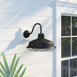 Giglio LED Outdoor Barn Light by Breakwater Bay