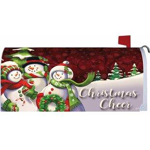 Christmas Cheer Mailbox Cover By Custom Decor