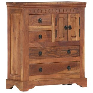 Woodrow 4 Drawers Combi Chest By Union Rustic