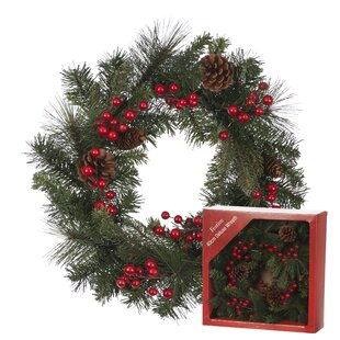 40cm Wreath By The Seasonal Aisle