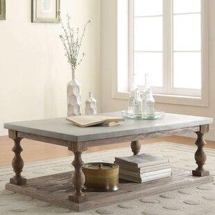 One Allium Way Krysiak Traditional Coffee Table with Storage