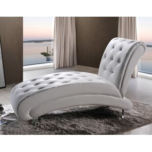 Great Price Marnie Chaise Lounge by Wade Logan Reviews (2019) & Buyer's Guide