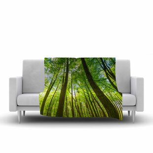 Top Reviews Susan Sanders Tree Sky Photography Fleece Blanket ByEast Urban Home