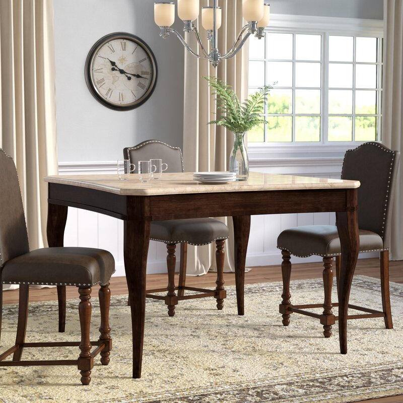 Darby Home Co Swenson Counter Height Dining Table Reviews Wayfair
