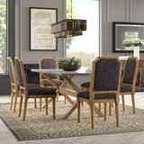 Hopedale 7 Piece Dining Set by Greyleigh™