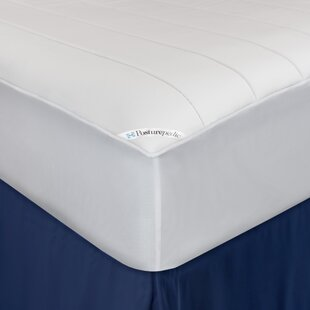 Posturepedic Washable Memory Foam Fitted Waterproof Mattress Protector