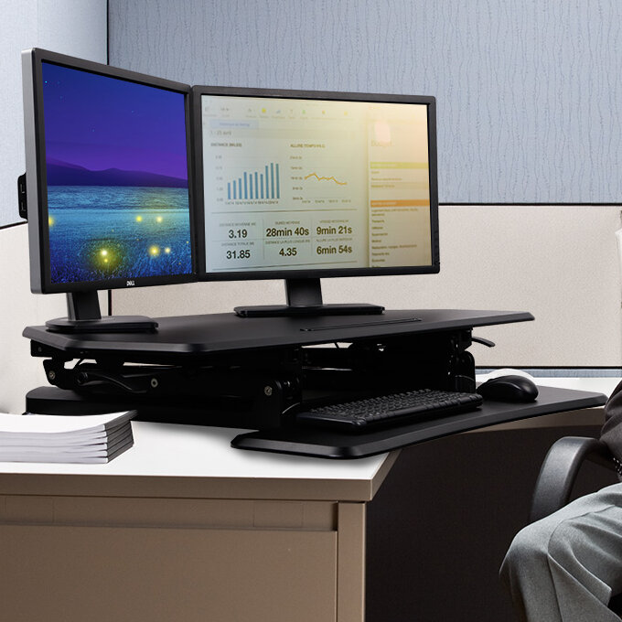 Flexispot Standing Desk Converter Wayfair