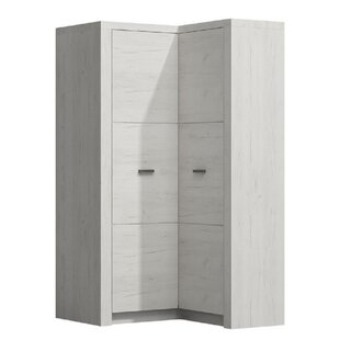 Mariko 2 Door Corner Wardrobe By Metro Lane