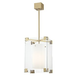 Tadley 1-Light Square/Rectangle Pendant by Brayden Studio