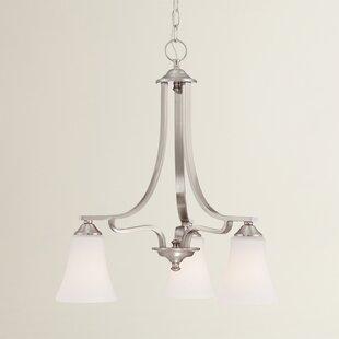 Oakside 3-Light Shaded Chandelier by Alcott Hill