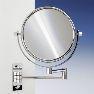 Top Wall Mounted Extendable Double Face Magnifying Mirror By Windisch by Nameeks