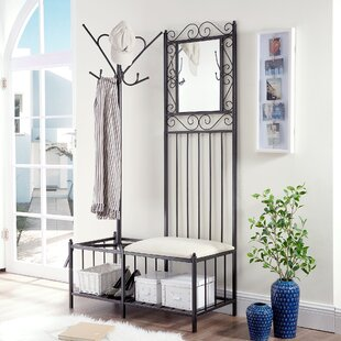 Fleur De Lis Living Cabott Hallway Storage Bench Hall Tree