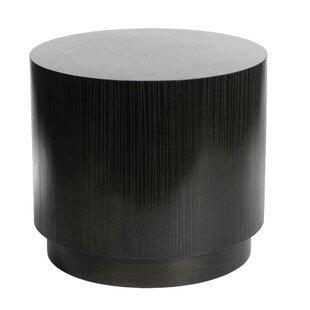 Garis Cylinder End Table