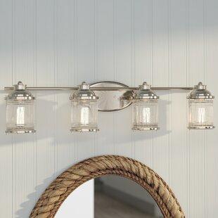 Beachcrest Home Galsworthy 4-Light Vanity Light