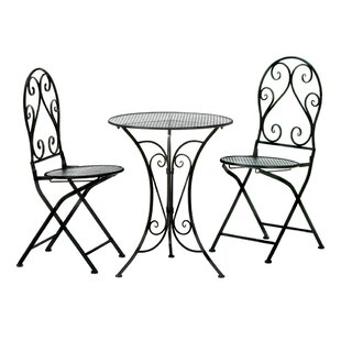 Bittle Chic 3 Piece Bistro Set
