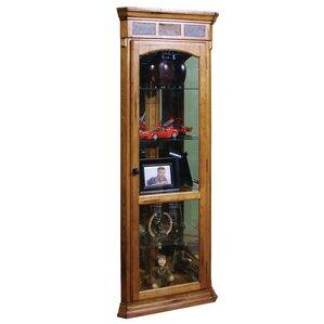 fresno corner curio cabinet