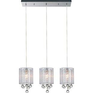 CWI Lighting 3-Light Kitchen Island Pendant