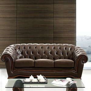 Noci Leather Sofa by Noci Design