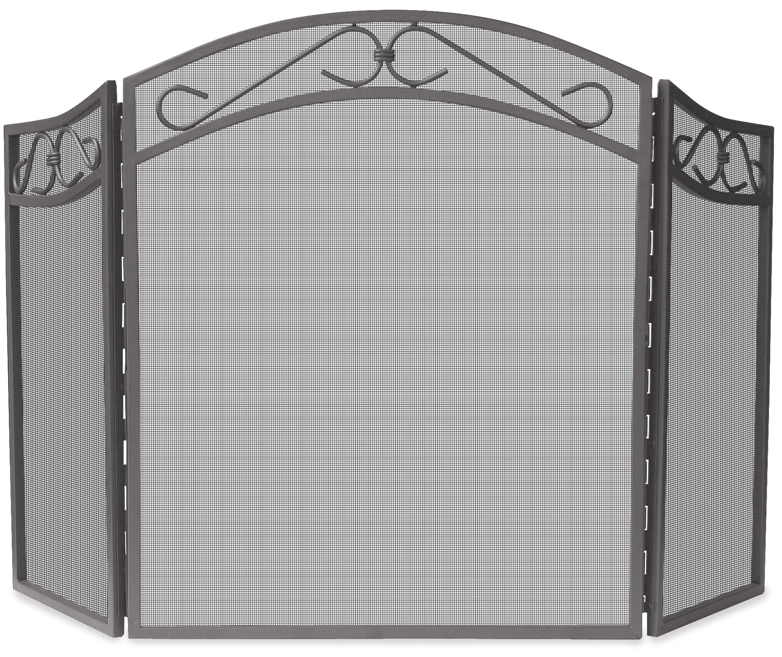 Astonishing 3 Panel Iron Fireplace Screen Download Free Architecture Designs Photstoregrimeyleaguecom